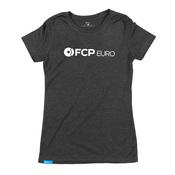 Logo Women's T-Shirt (Black) Extra Large - FCP Euro 577180