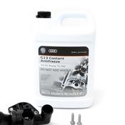 Audi Coolant Thermostat Kit - Mahle Behr 06D121111GKT