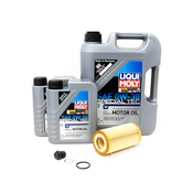 Volvo Oil Change Kit 0W-30 - Liqui Moly KIT-P1SERVICE1V1