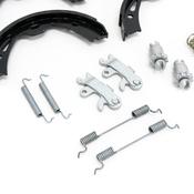 Porsche Parking Brake Kit - Textar/Genuine Porsche 91063500KT