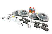 Porsche Brake Kit - Ferodo Racing/Sebro 987BRKT7