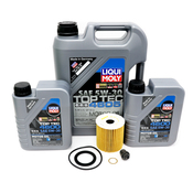 Volvo Oil Change Kit 5W-30 - Liqui Moly KIT-538539
