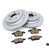 Volvo Brake Kit - Zimmermann KIT-P2320FTANDRBKKT2