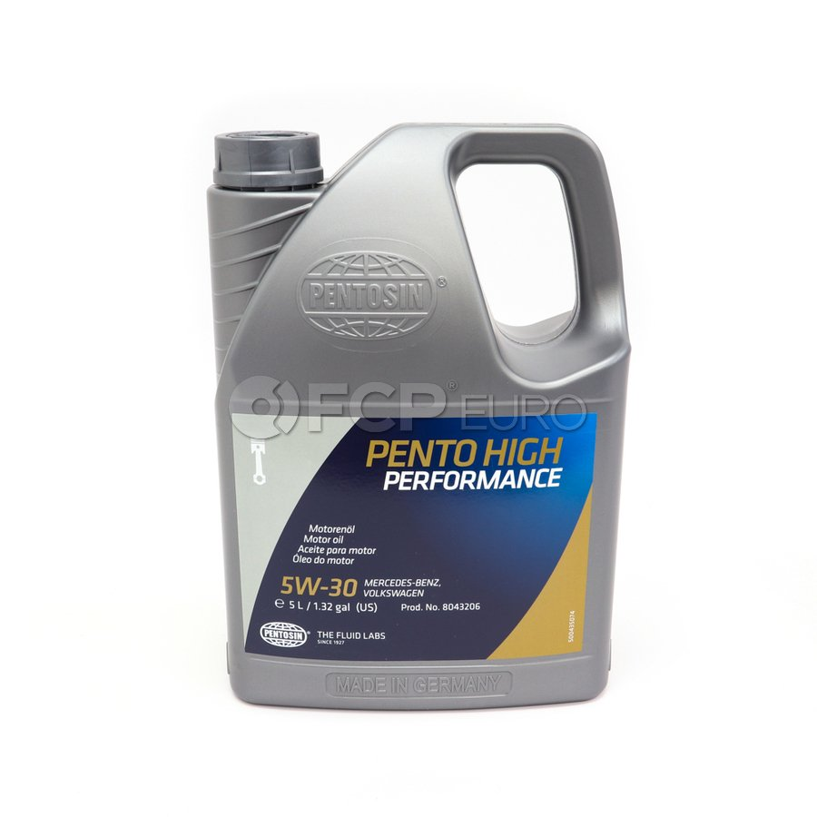 5W30 Pento High Performance Engine Oil (5 Liter) - Pentosin 8043206