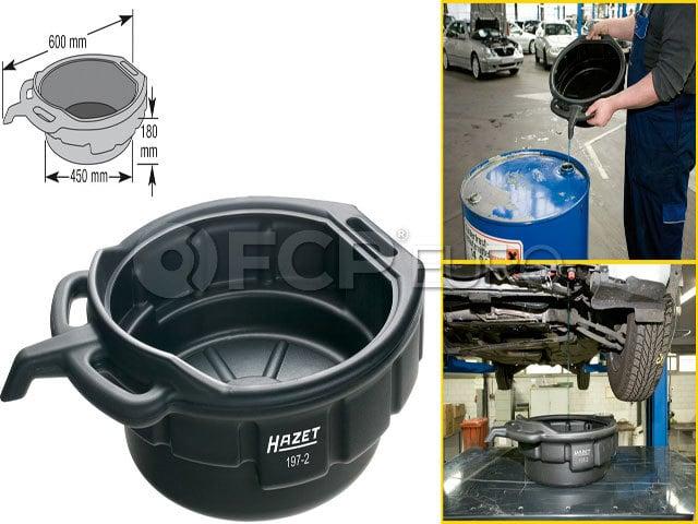 HAZET Multi-Purpose Drain Pan with Handles - HAZET 197-2