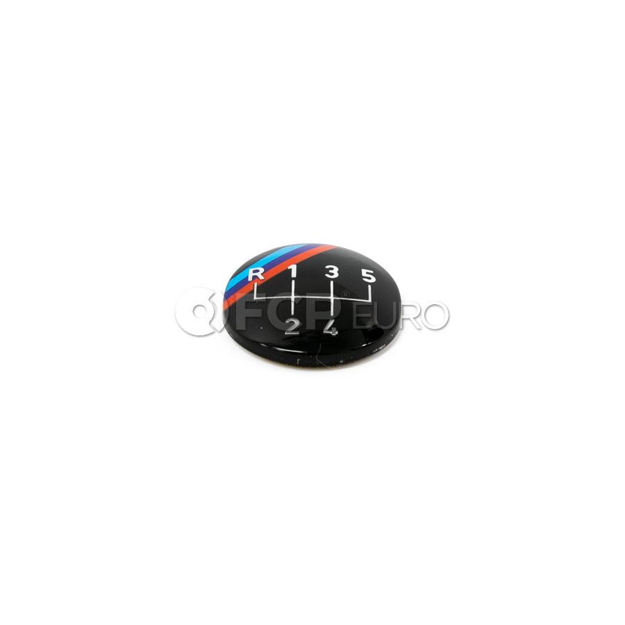 BMW Emblem Adhered (MTechnik) - Genuine BMW 25111221612