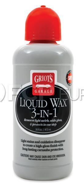 Liquid Wax 3-in-1 (16oz.) - Griot's Garage 11013