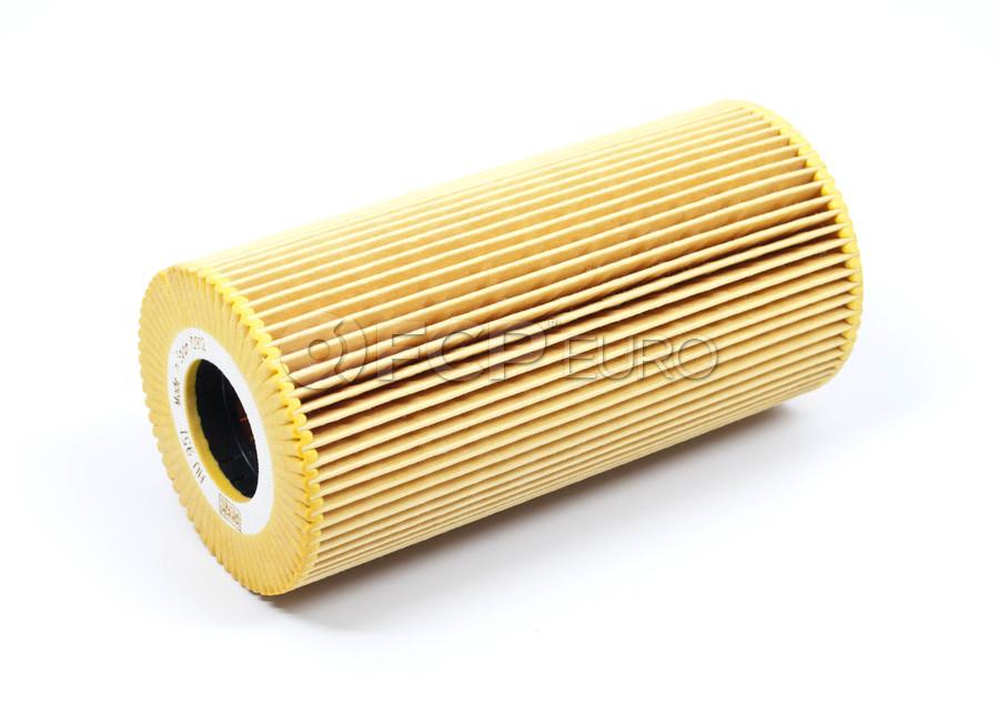 Mercedes Engine Oil Filter Kit - Mann 6061800109