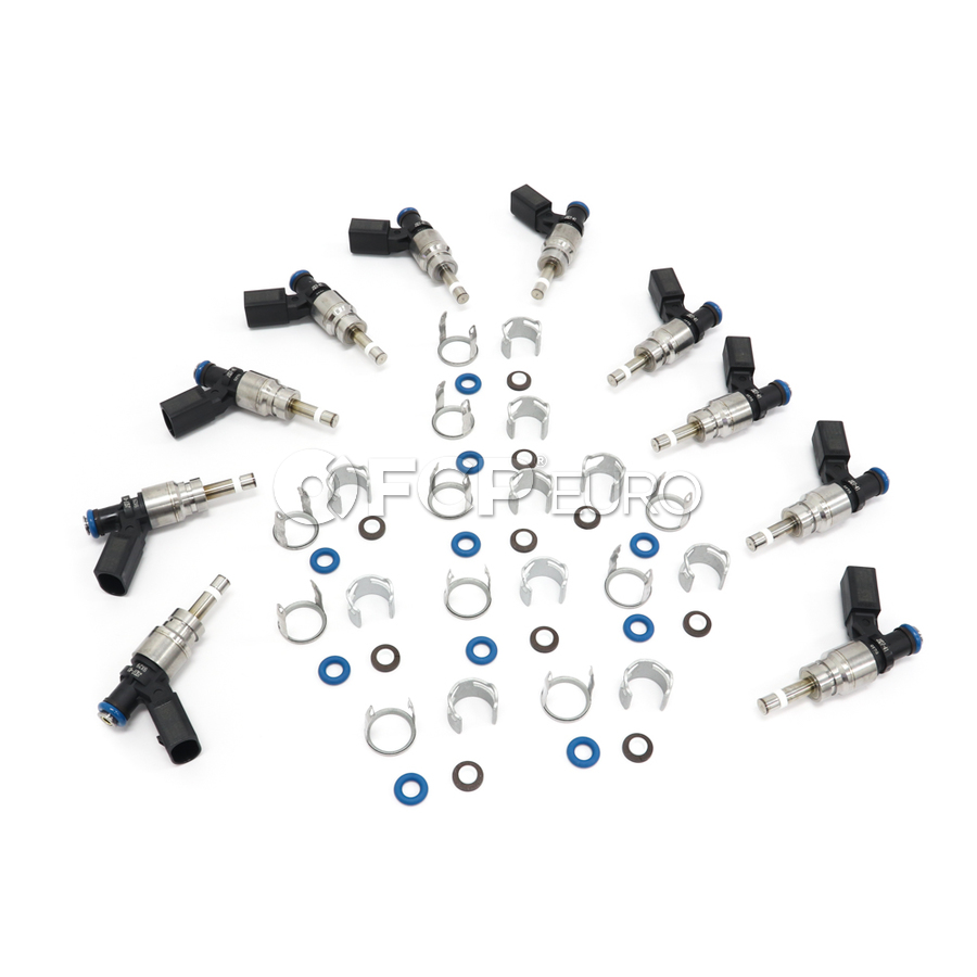 Audi Fuel Injector Kit - Hitachi FIJ0033KT2