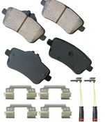Mercedes Brake Pad Set - Akebono 0074209020