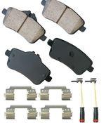 Mercedes Brake Pad Set - Akebono 0074209020