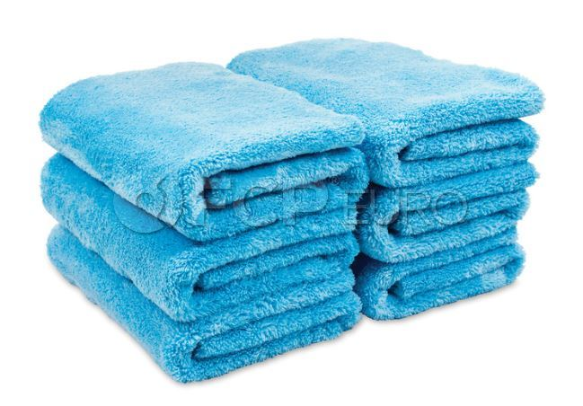 Microfiber Plush Edgeless Towels (Set of 6) - Griot's Garage 14901