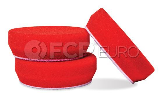 Red Waxing Pads (3in.) - Griot's Garage 11263