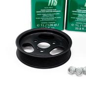 Porsche Power Steering Pump Kit - Genuine Porsche/Pentosin 95531405005KT
