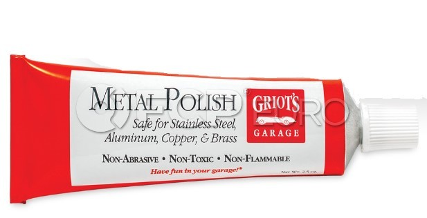 Metal Polish (2.5oz.) - Griot's Garage 11238