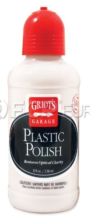 Plastic Polish (8oz.) - Griot's Garage 11186
