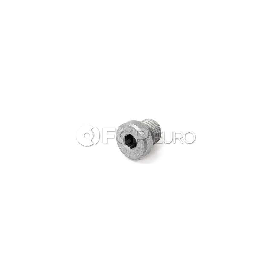 BMW Screw Plug With Gasket Ring (M12X15) - Genuine BMW 24117552350
