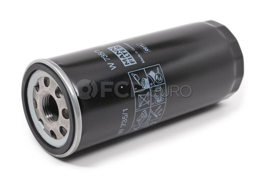 Audi Oil Filter - Mann W735/1
