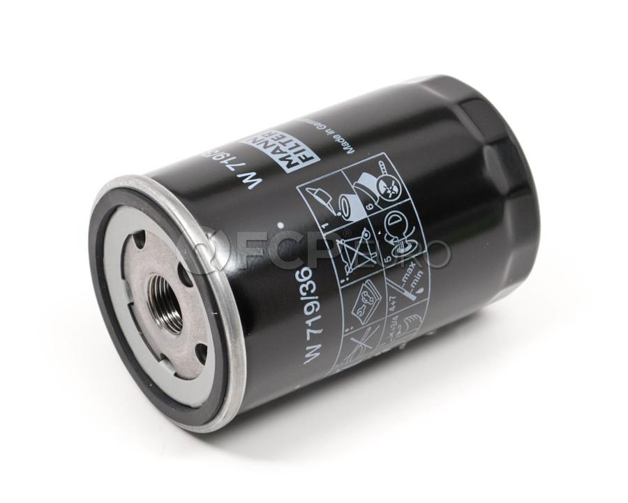 Jaguar Engine Oil Filter - Mann W719/36