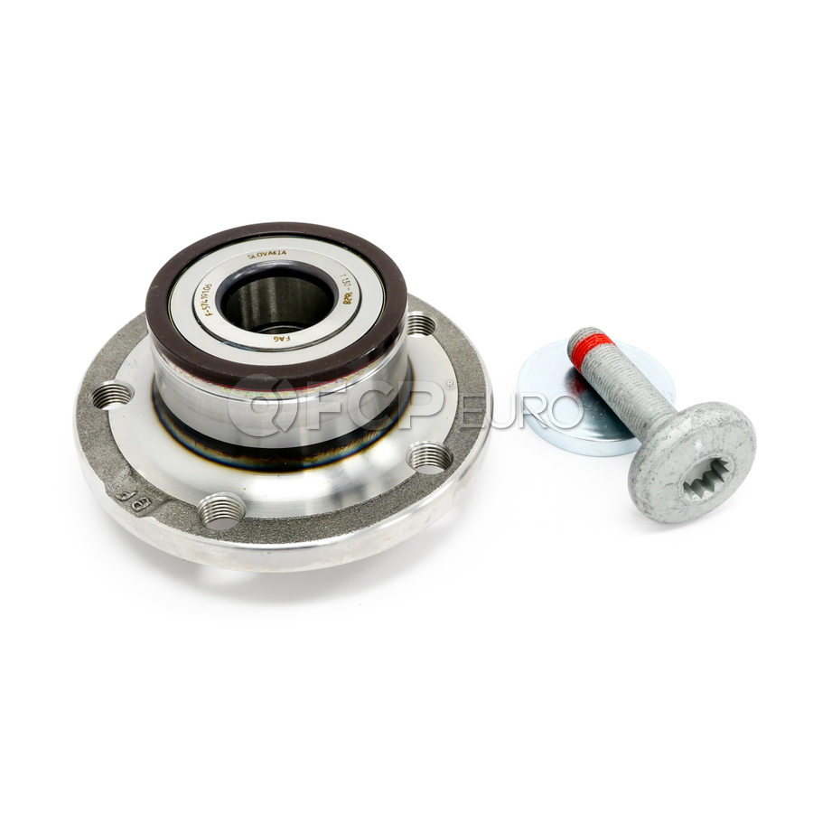 Audi VW Wheel Bearing Hub Assembly - FAG 1T0598611B