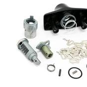 BMW Rep.Kit F Lock Cylinder - Genuine BMW 51249061785