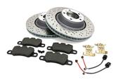 Porsche Brake Kit - VNE/Textar 981GT4BRKT2