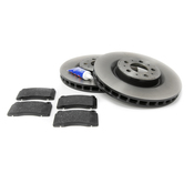 Volvo Brake Kit - TRW Ceramic 30645222KT2