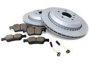 Mercedes Brake Kit - Jurid 1644230612