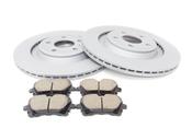Audi Brake Kit - Zimmermann/ATE S4REARBKZIMMKT2