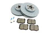 Mercedes Brake Kit - Textar 0004212212