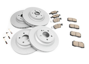Mercedes Brake Kit - Zimmermann 0064203220