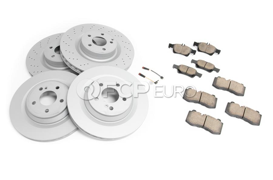 Mercedes Brake Kit - Zimmermann 2214211112