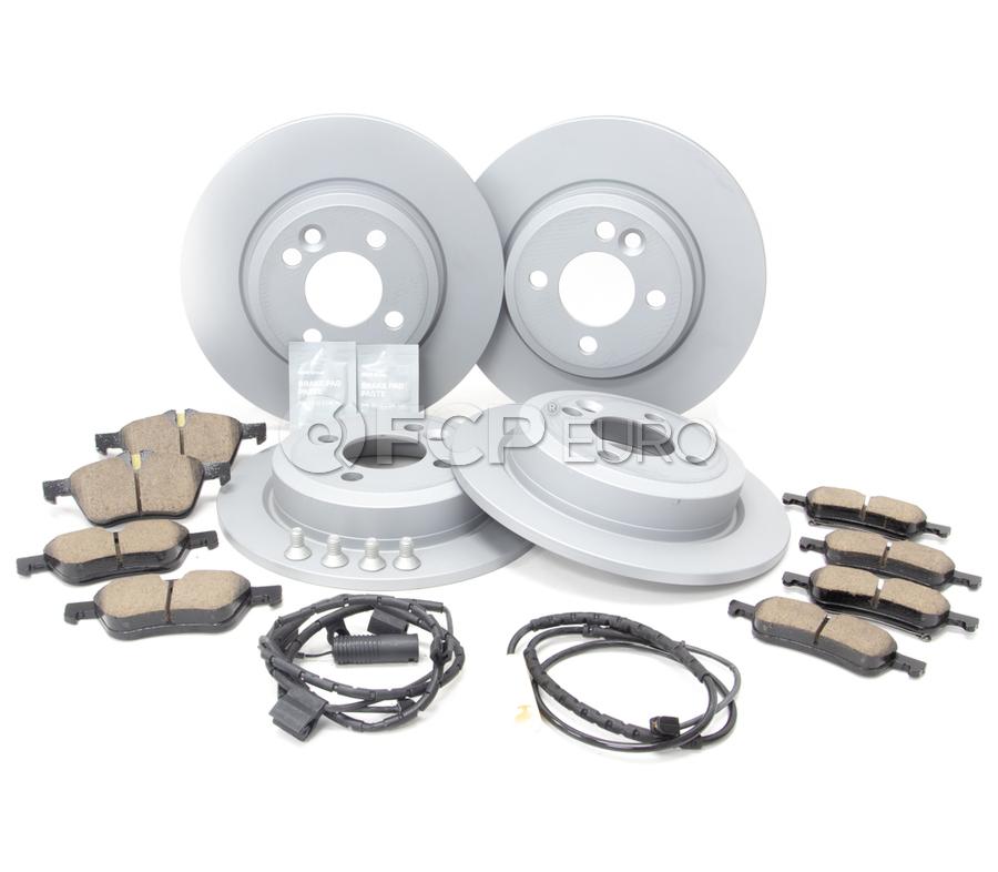 BMW Brake Kit - Zimmermann/Bosch 34116774984KTFR