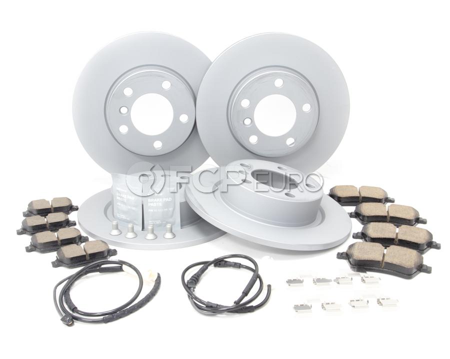 Mini Brake Kit - Zimmermann/Textar 34119811537KTFR