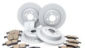 Mini Brake Kit - Zimmermann/Jurid 34111502891KTFR
