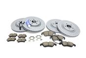 Audi Brake Kit - Zimmermann Sport 100335652KT4