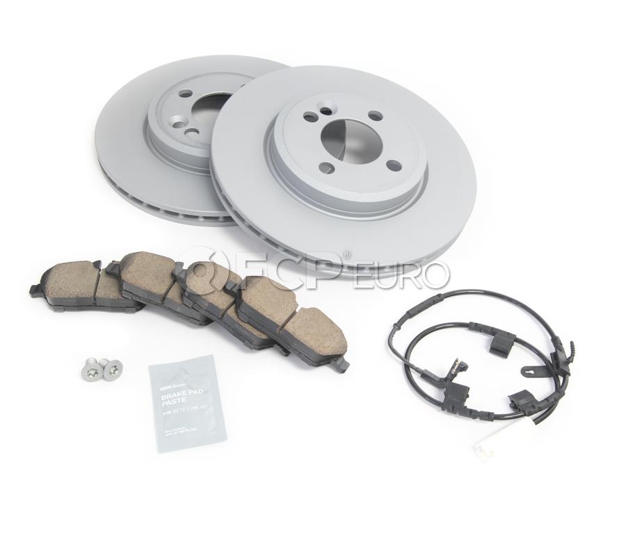 Mini Brake Kit - Zimmermann/Textar 34116858651KTF
