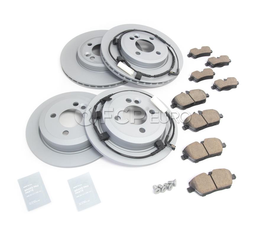 Mini Brake Kit - Zimmermann/Textar 34116858651KTFR