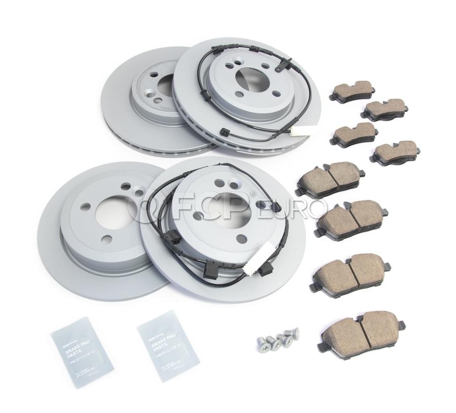 Mini Brake Kit - Zimmermann/Textar 34116858651KTFR1