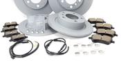 Mini Brake Kit - Zimmermann/Teextar 34119811538KTFR