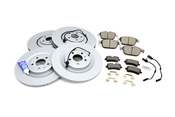 Audi Brake Kit - Zimmermann KIT-4H0615301AAKT101