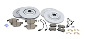 Audi Brake Kit - Zimmermann 4H0615301ANKT2101