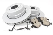 BMW Brake Kit - Zimmermann/Textar ePad 34216864053KTR7