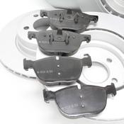 BMW Brake Kit - Zimmermann/Textar ePad 34116793244KTFR5