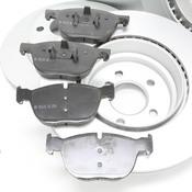 BMW Brake Kit - Zimmermann/Textar ePad 34116793244KTFR3