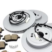 Mini Brake Kit - Zimmermann/Akebono 34116858652KTFR2
