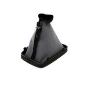 BMW Imitation Leather Gear Lever Cover (Black) - Genuine BMW 25111222412