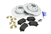 Audi VW Brake Kit - Pagid KIT-1K0615601ACKT60