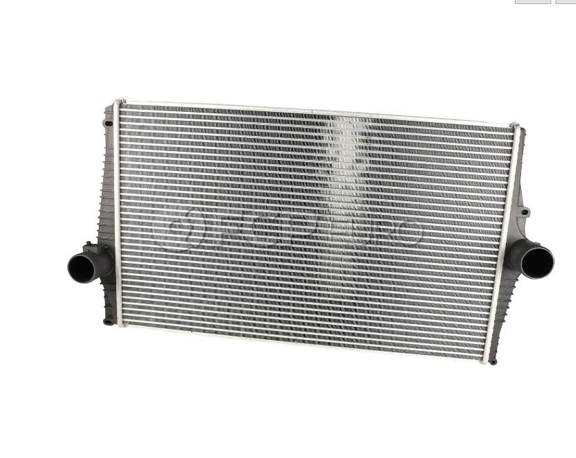 VW Intercooler - Nissens 3C0145805R