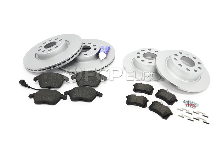 VW Brake Kit - Zimmermann KIT-5Q0615301FKT12